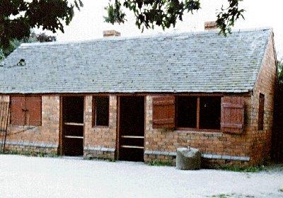 A nailshop now restored at Avoncroft Museum of Buildings